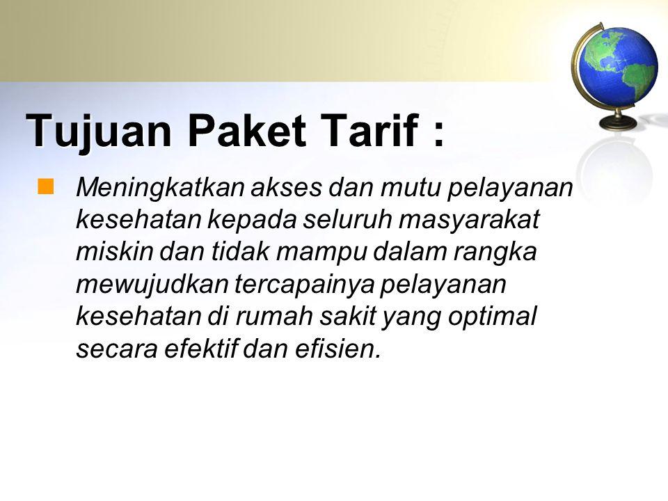 Tujuan Paket Tarif :