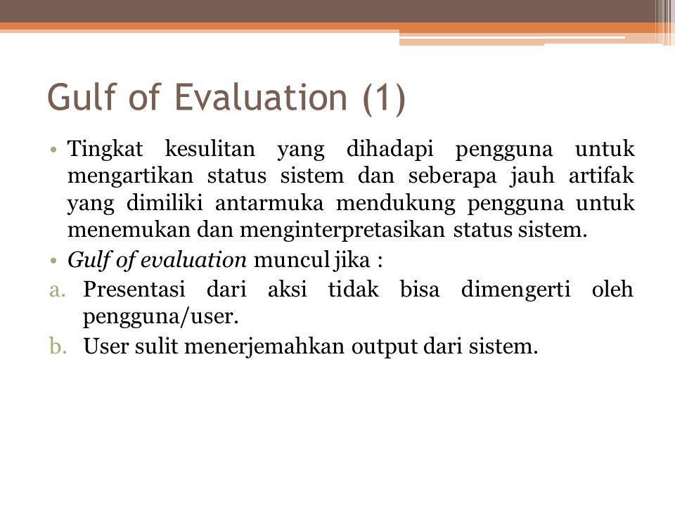 Gulf of Evaluation (1)