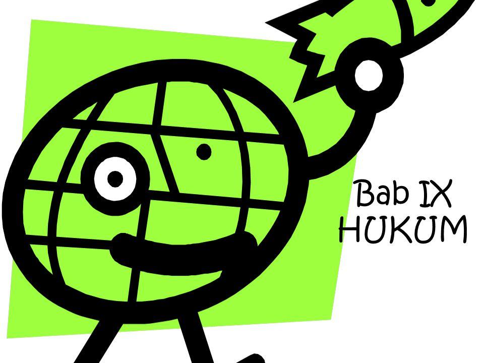 Bab IX HUKUM