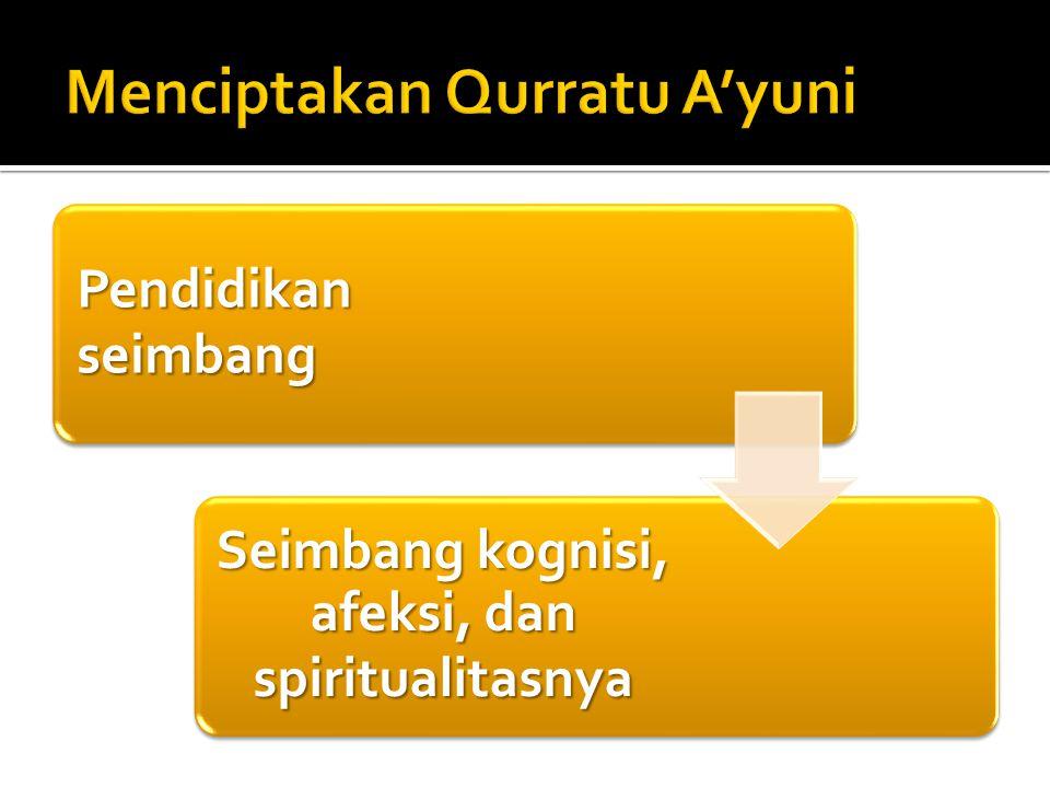 Menciptakan Qurratu A'yuni