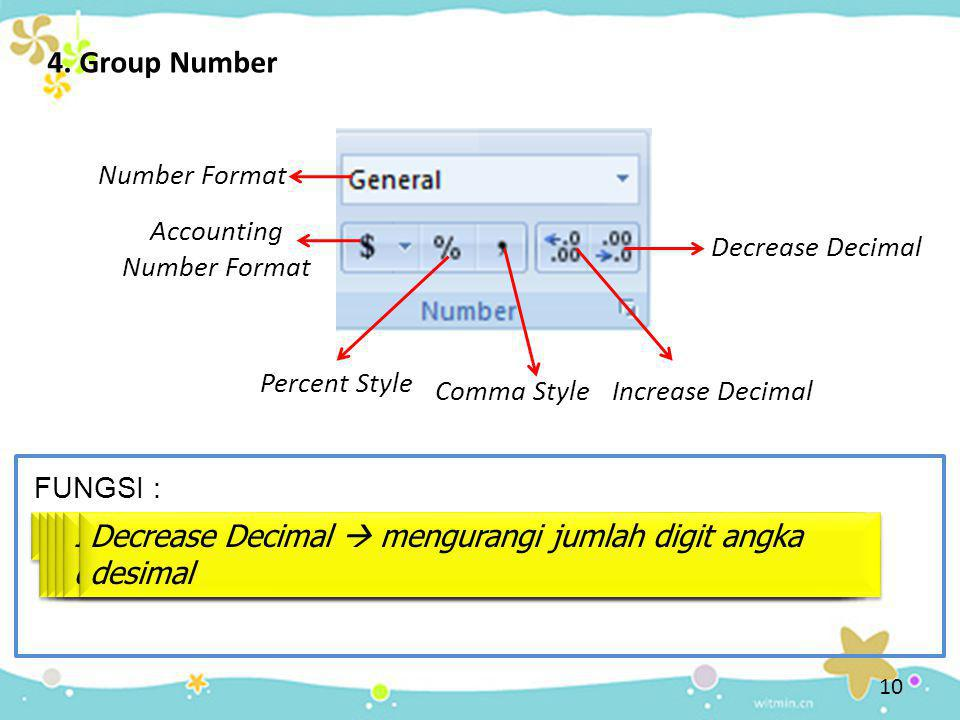 Accounting Number Format