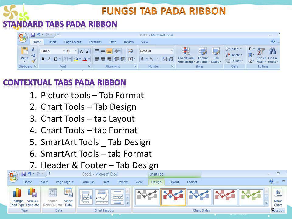 FUNGSI TAB PADA RIBBON Picture tools – Tab Format