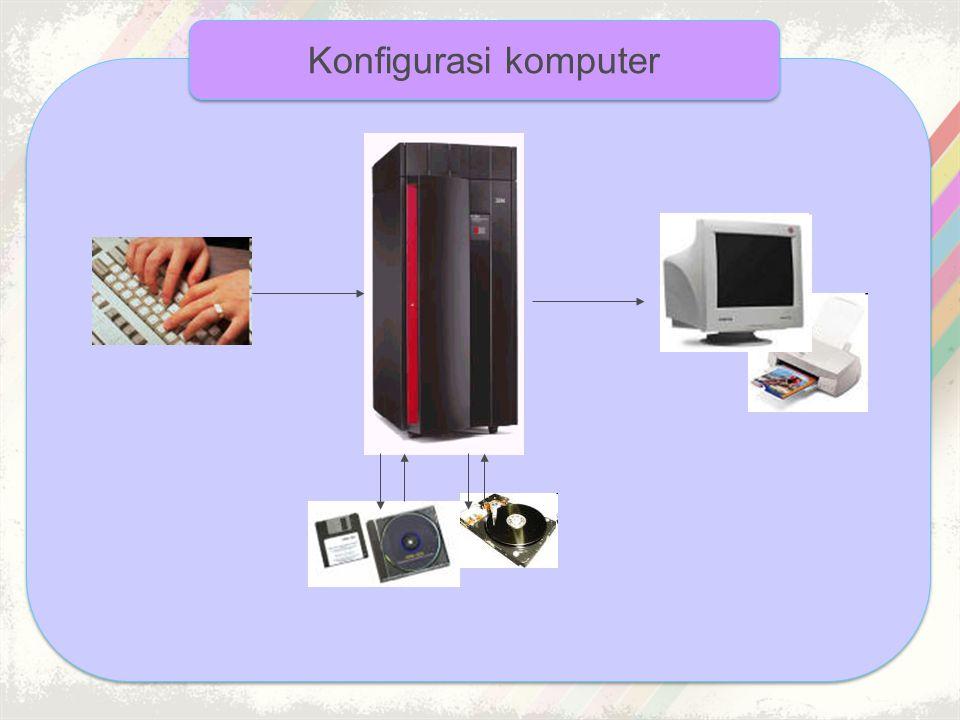 Konfigurasi komputer