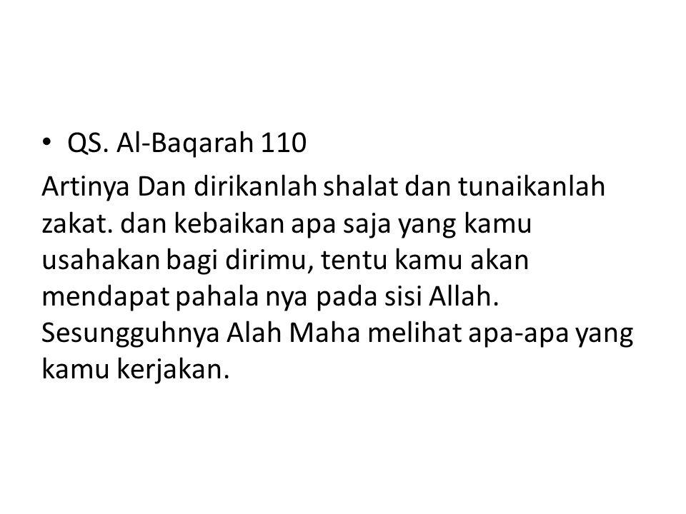 QS. Al-Baqarah 110