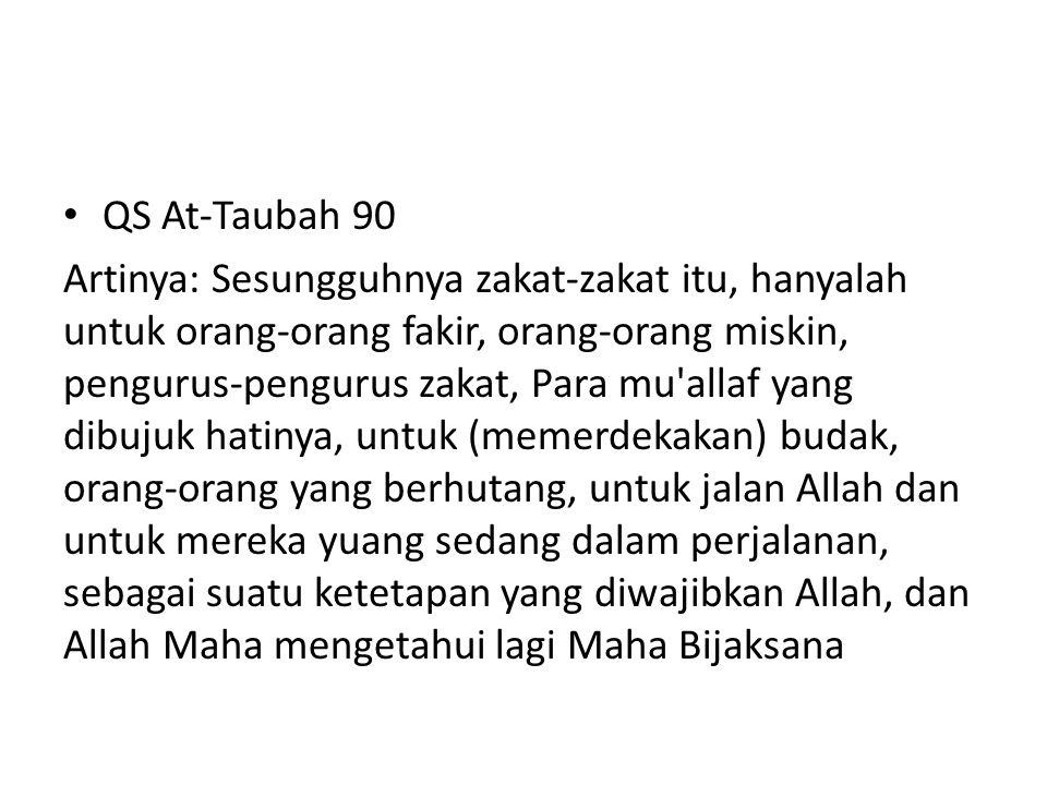 QS At-Taubah 90