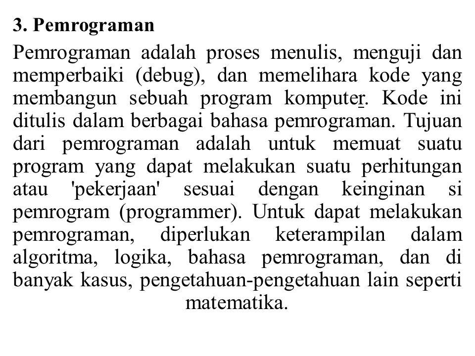 3. Pemrograman