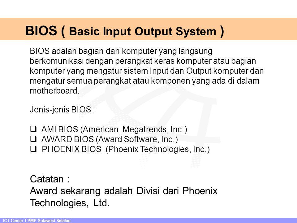 BIOS ( Basic Input Output System )