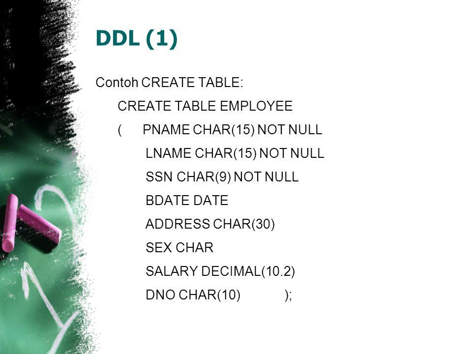 DDL (1)