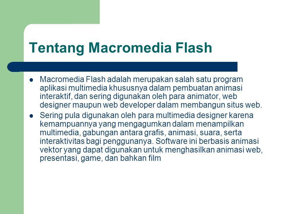 Tentang Macromedia Flash