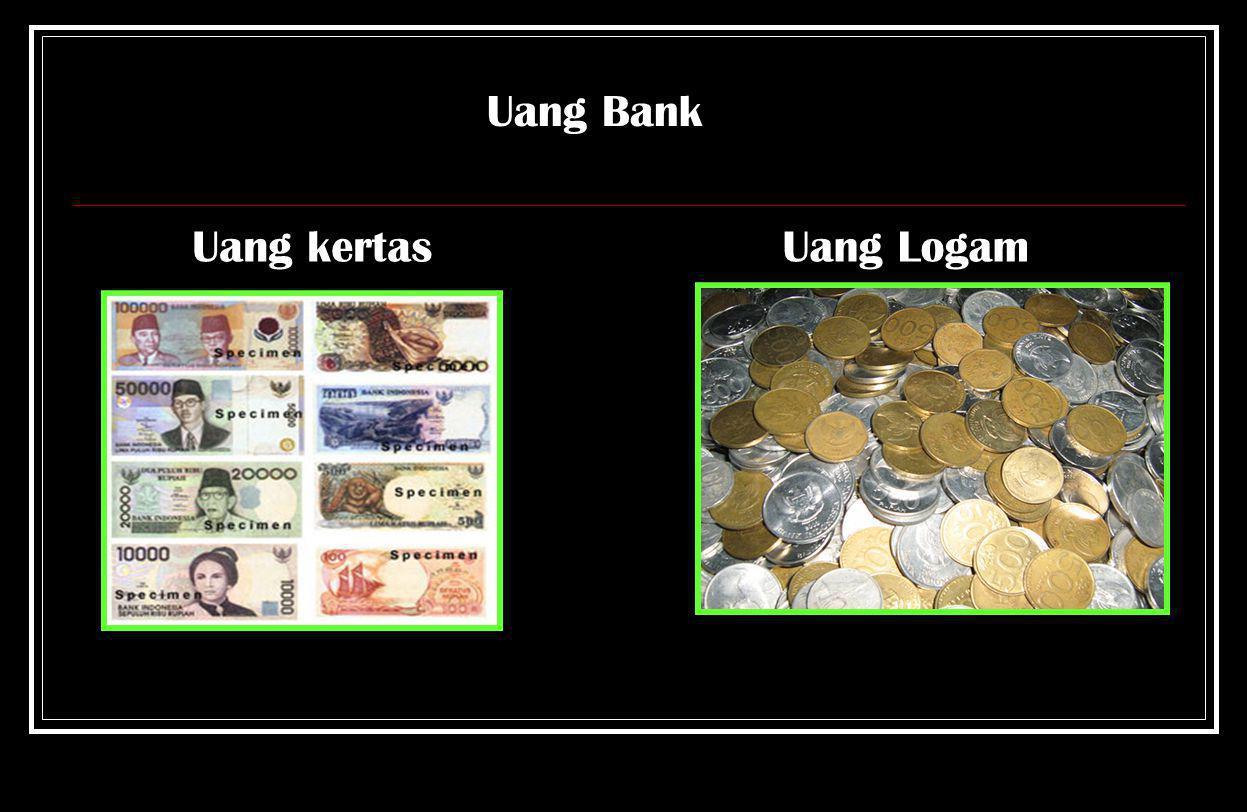 Uang Bank Uang kertas Uang Logam