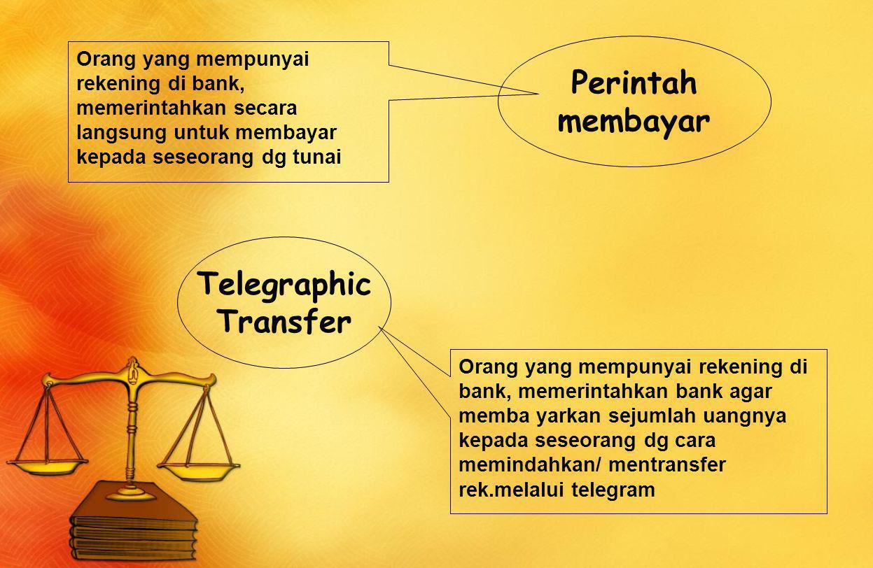 Perintah membayar Telegraphic Transfer