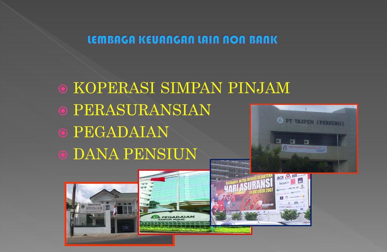 LEMBAGA KEUANGAN LAIN NON BANK