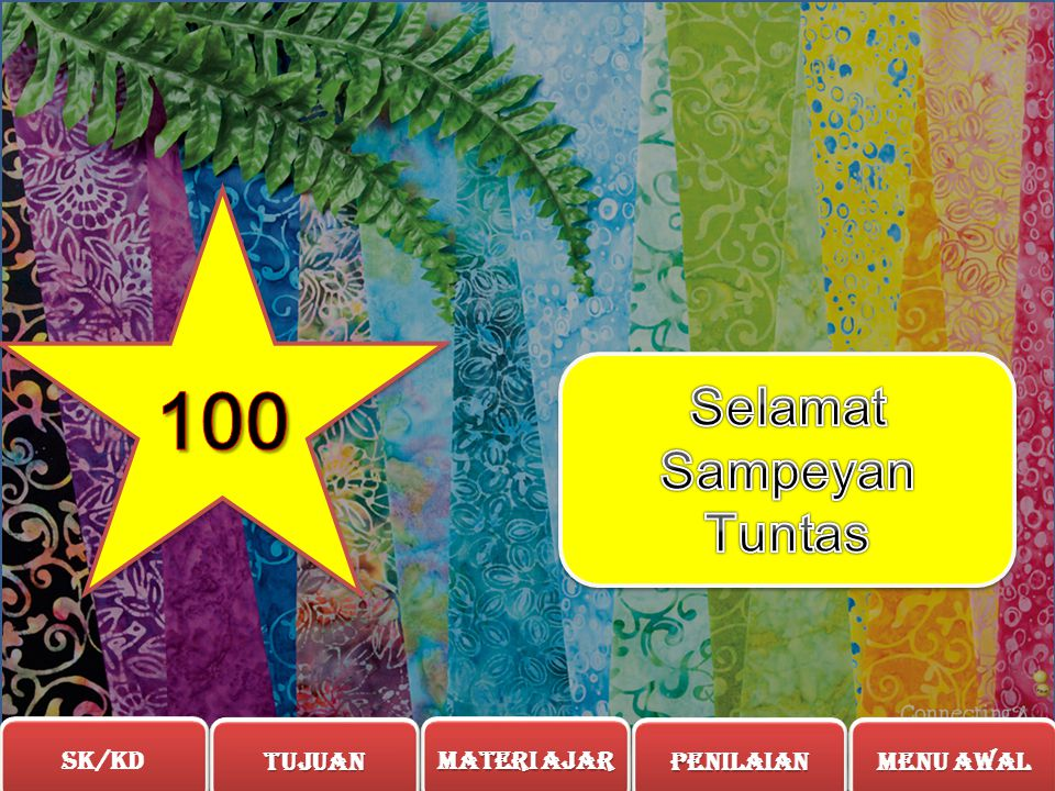 Selamat Sampeyan Tuntas