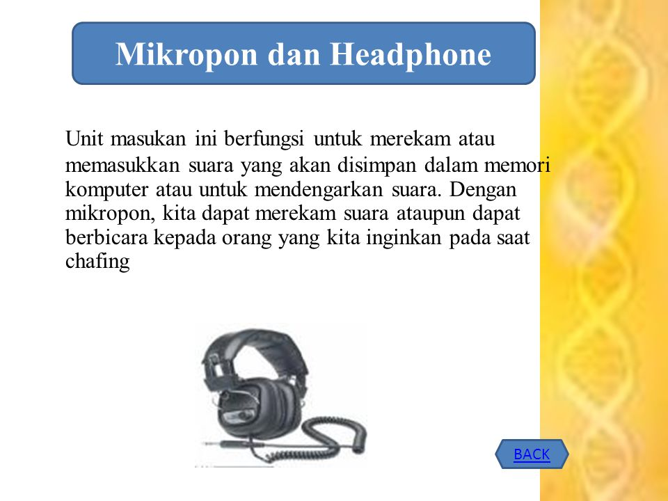 Mikropon dan Headphone
