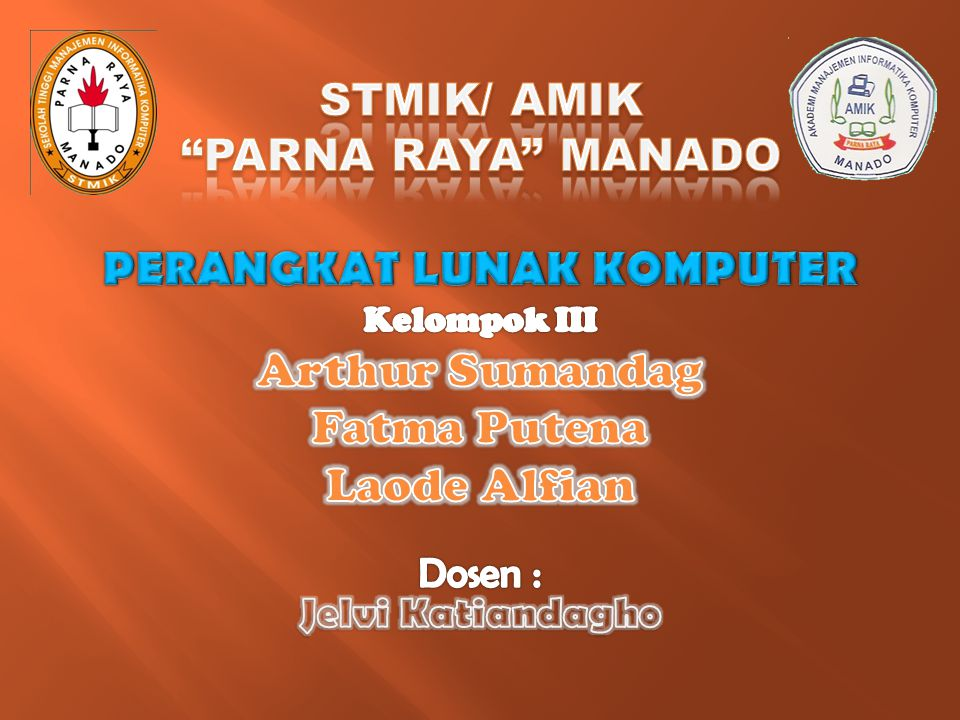 STMIK/ AMIK PARNA RAYA MANADO