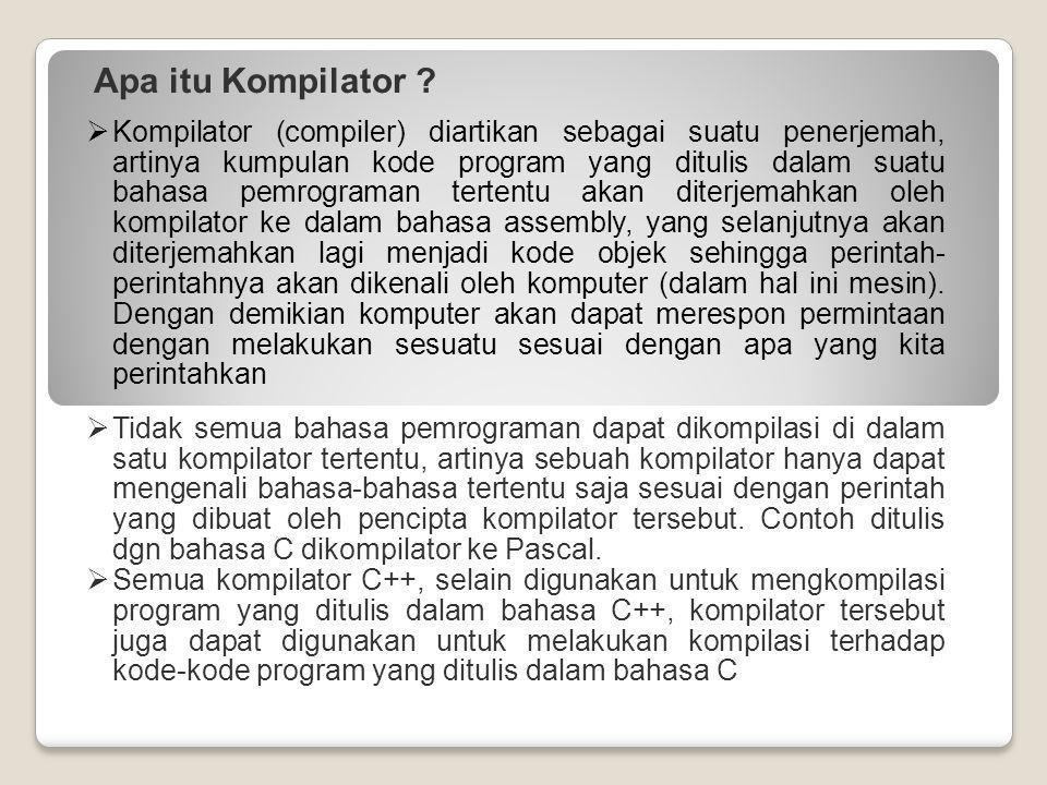 Apa itu Kompilator