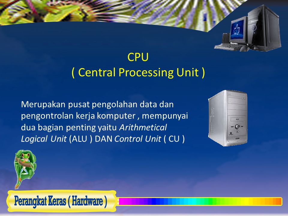 CPU ( Central Processing Unit )