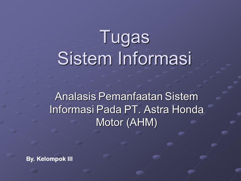 Tugas Sistem Informasi