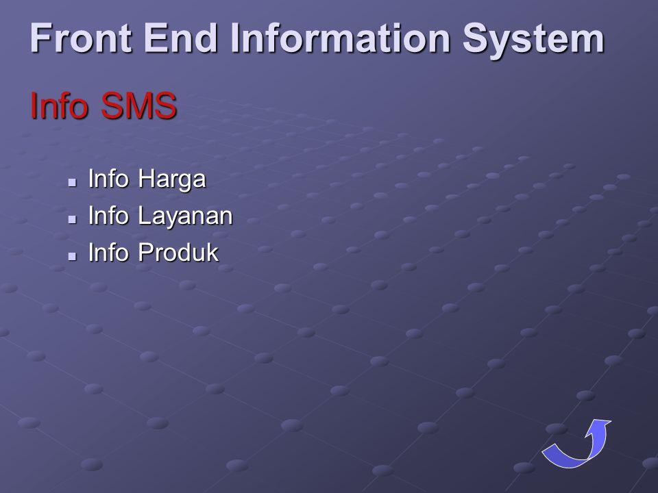 Front End Information System