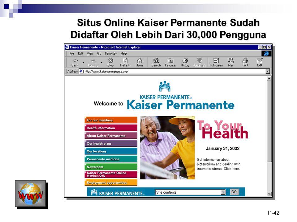 Situs Online Kaiser Permanente Sudah Didaftar Oleh Lebih Dari 30,000 Pengguna