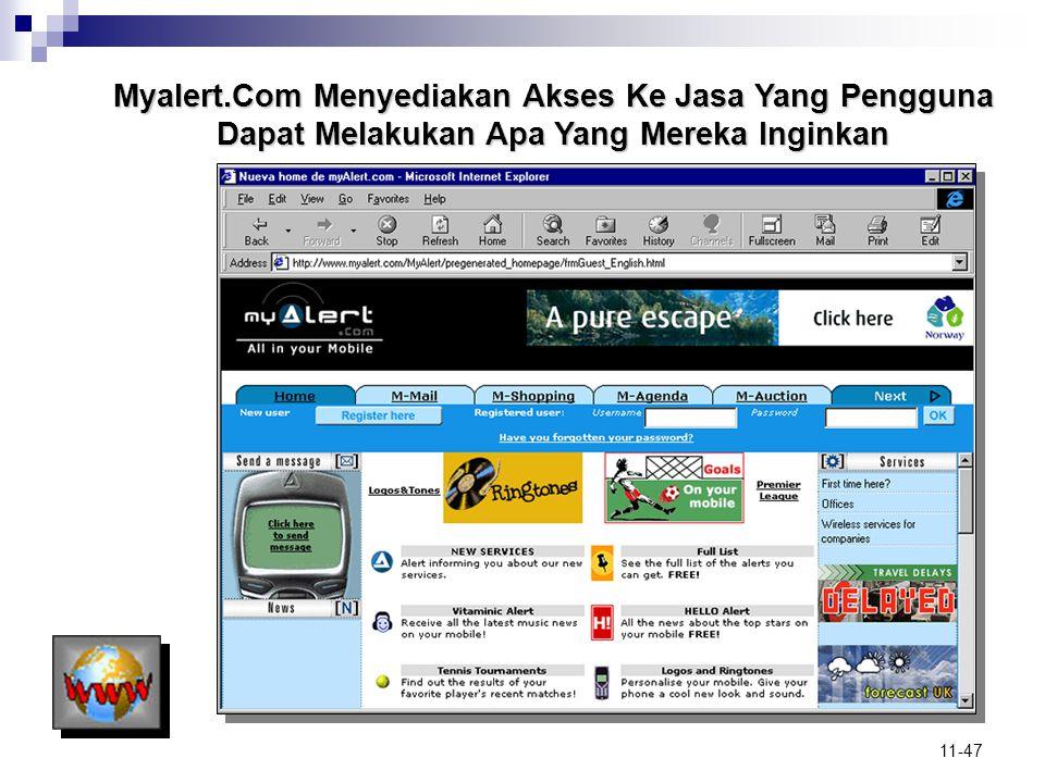 Myalert.Com Menyediakan Akses Ke Jasa Yang Pengguna Dapat Melakukan Apa Yang Mereka Inginkan