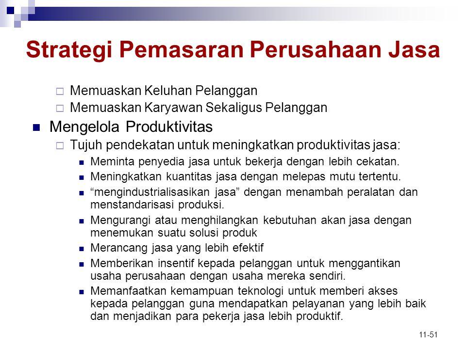 Strategi Pemasaran Perusahaan Jasa