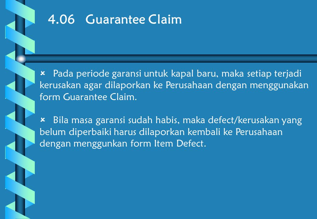 4.06 Guarantee Claim