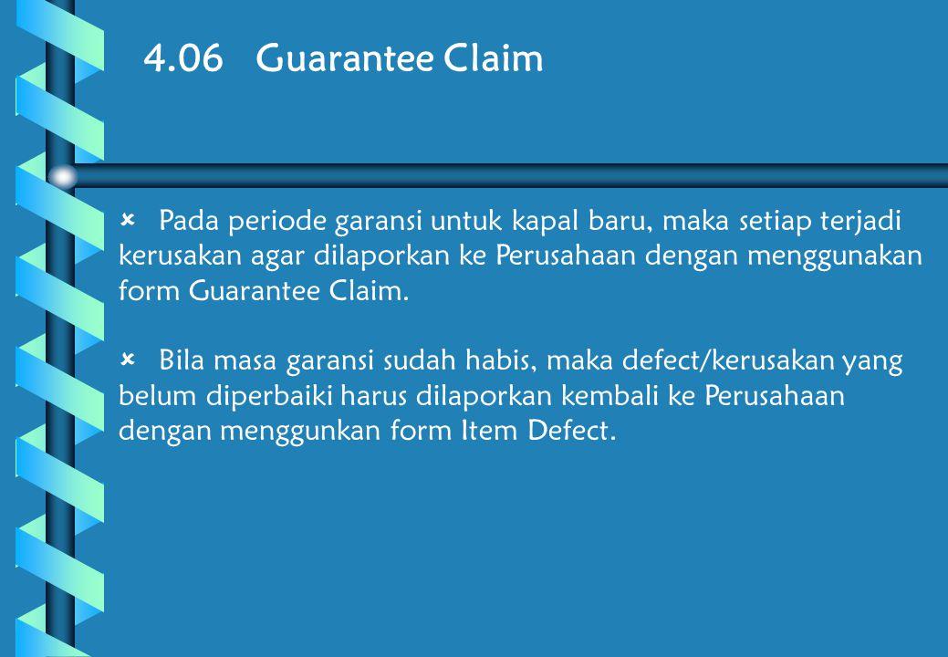 4.06 Guarantee Claim