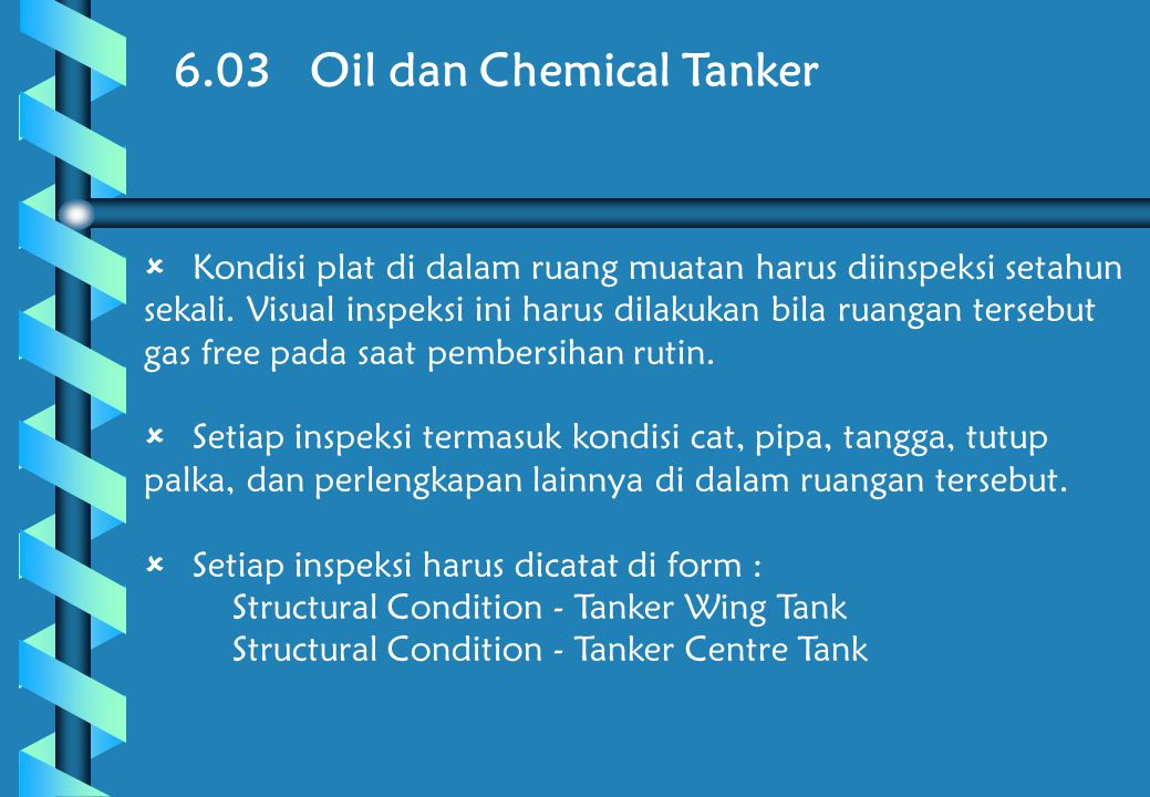 6.03 Oil dan Chemical Tanker