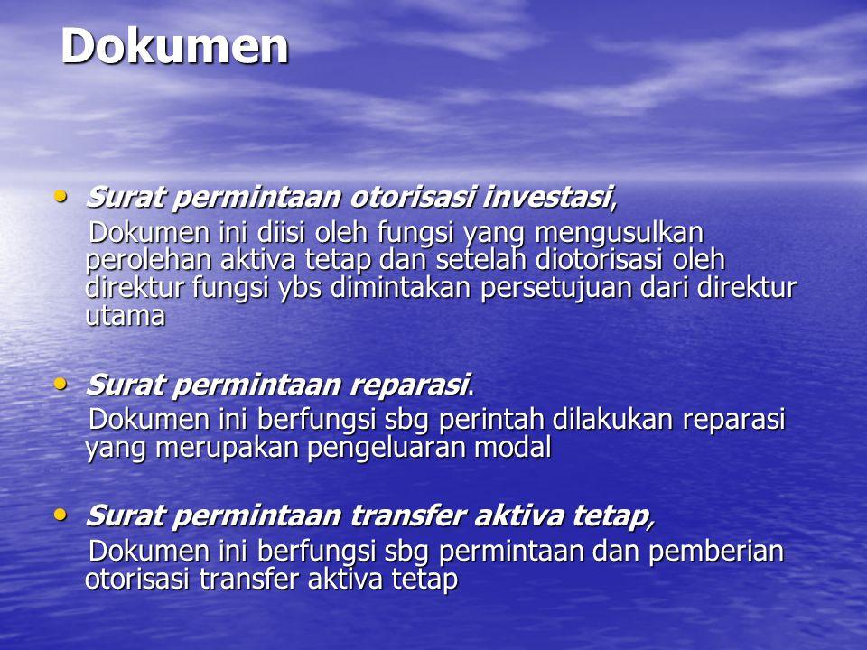 Dokumen Surat permintaan otorisasi investasi,