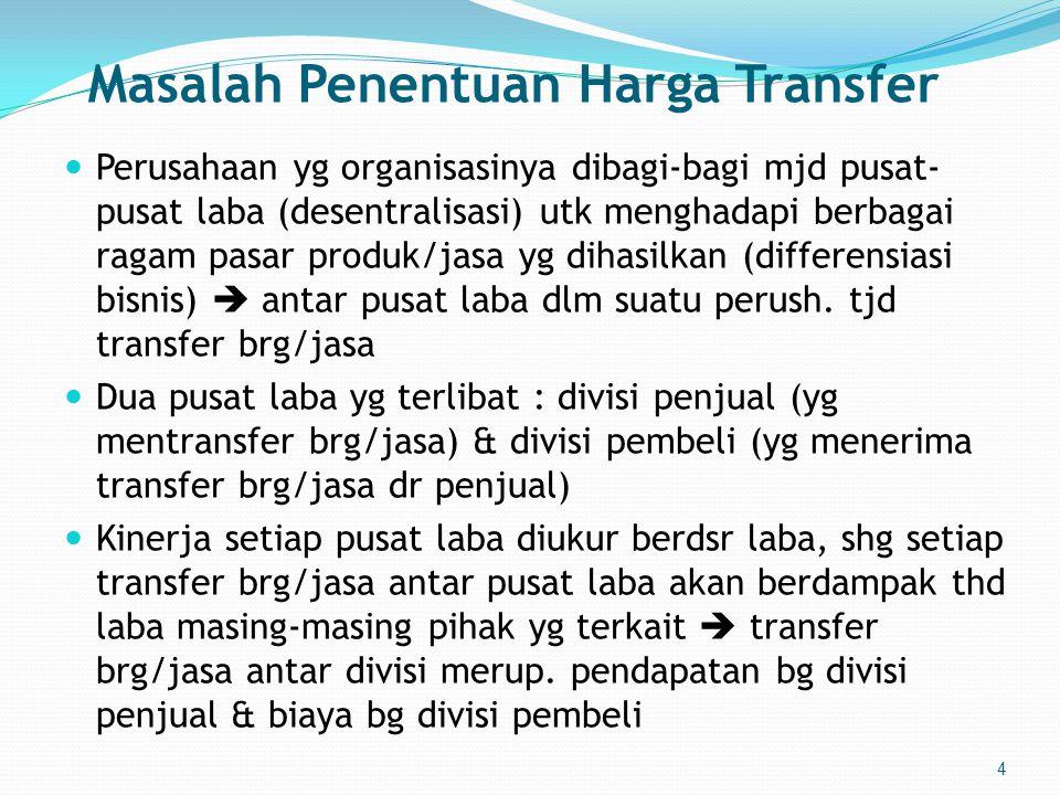 Masalah Penentuan Harga Transfer