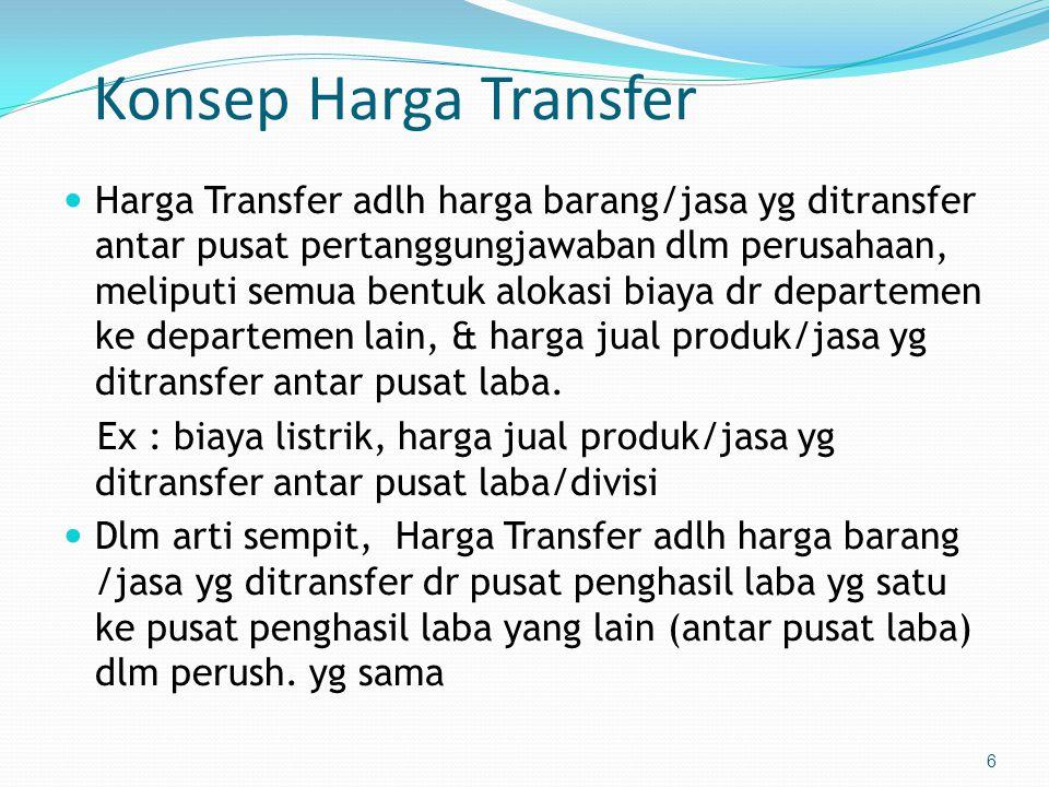 Konsep Harga Transfer