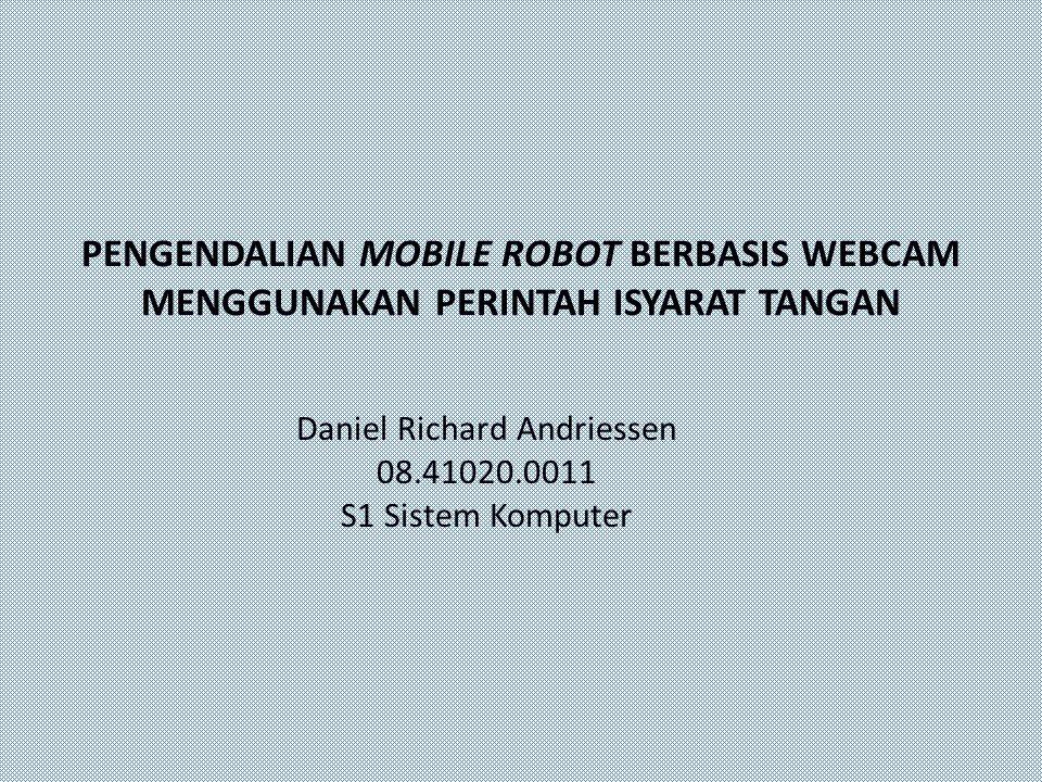 Daniel Richard Andriessen 08.41020.0011 S1 Sistem Komputer