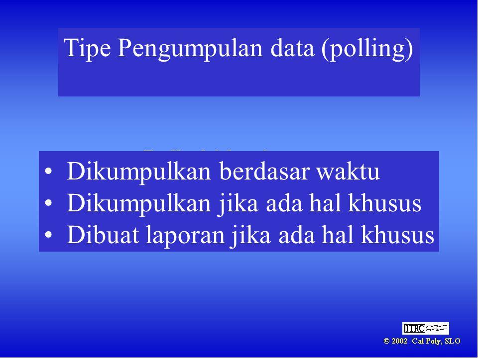 Tipe Pengumpulan data (polling)