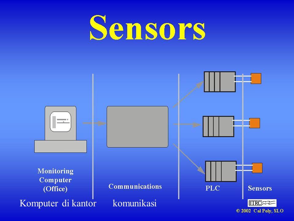 Komputer di kantor komunikasi