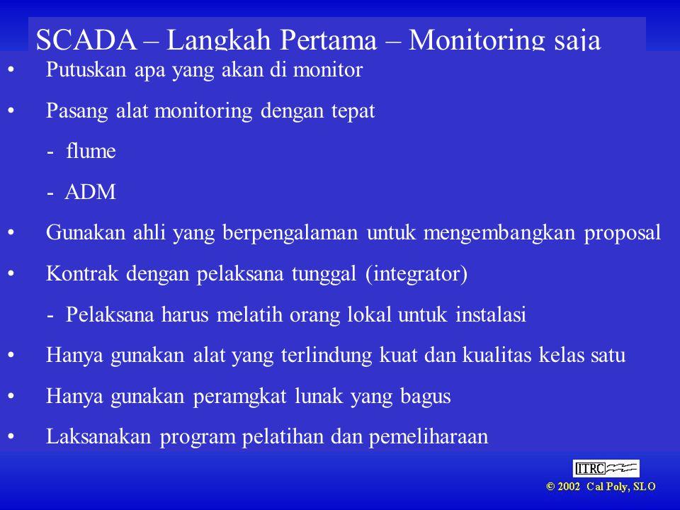 SCADA – Langkah Pertama – Monitoring saja