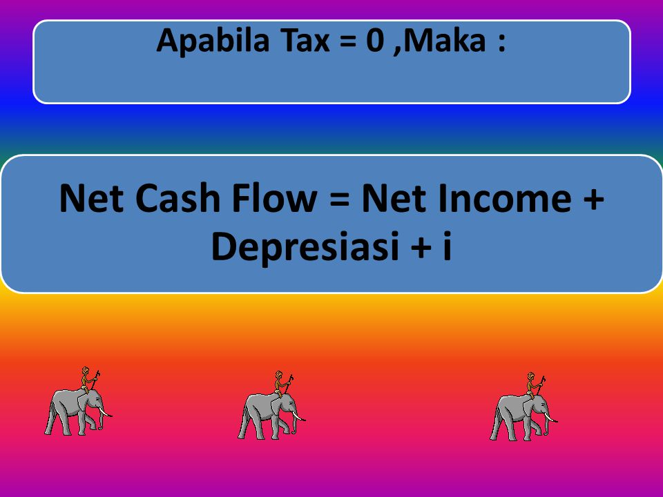 Net Cash Flow = Net Income + Depresiasi + i