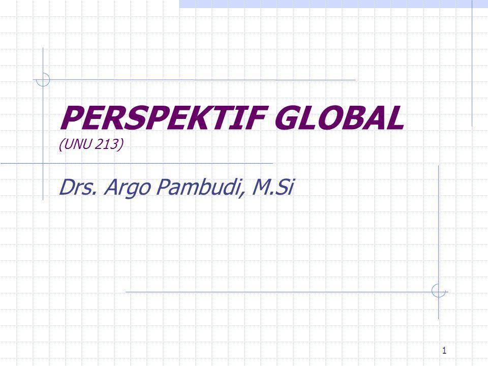 PERSPEKTIF GLOBAL (UNU 213)