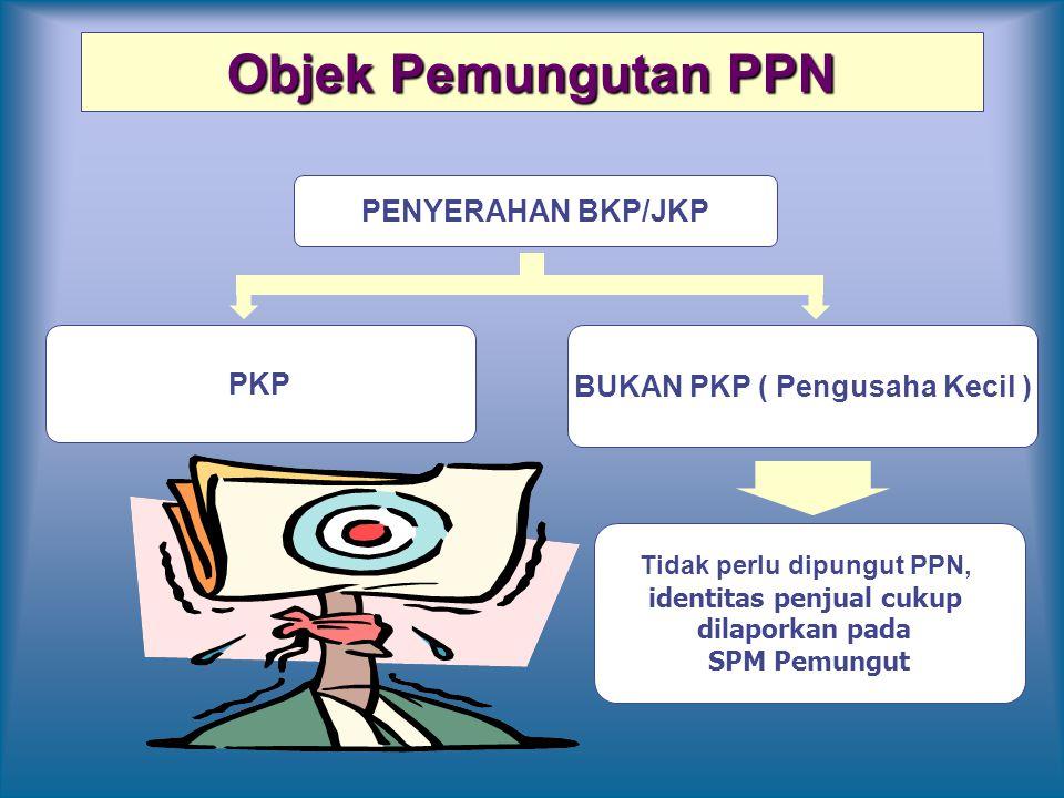 Objek Pemungutan PPN PENYERAHAN BKP/JKP PKP