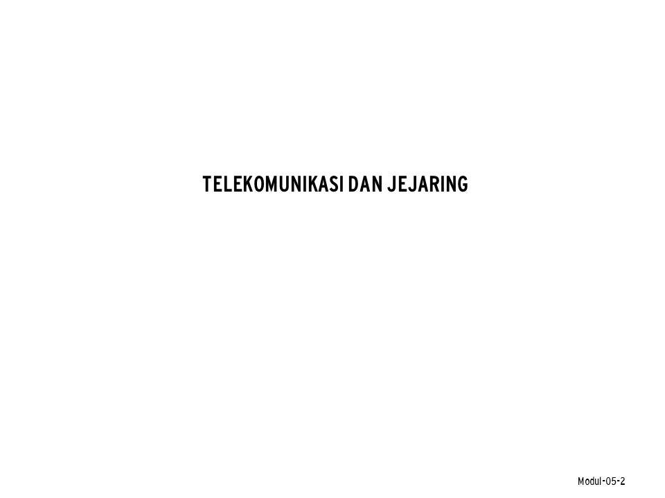 TELEKOMUNIKASI DAN JEJARING