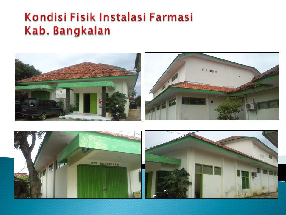 Kondisi Fisik Instalasi Farmasi Kab. Bangkalan