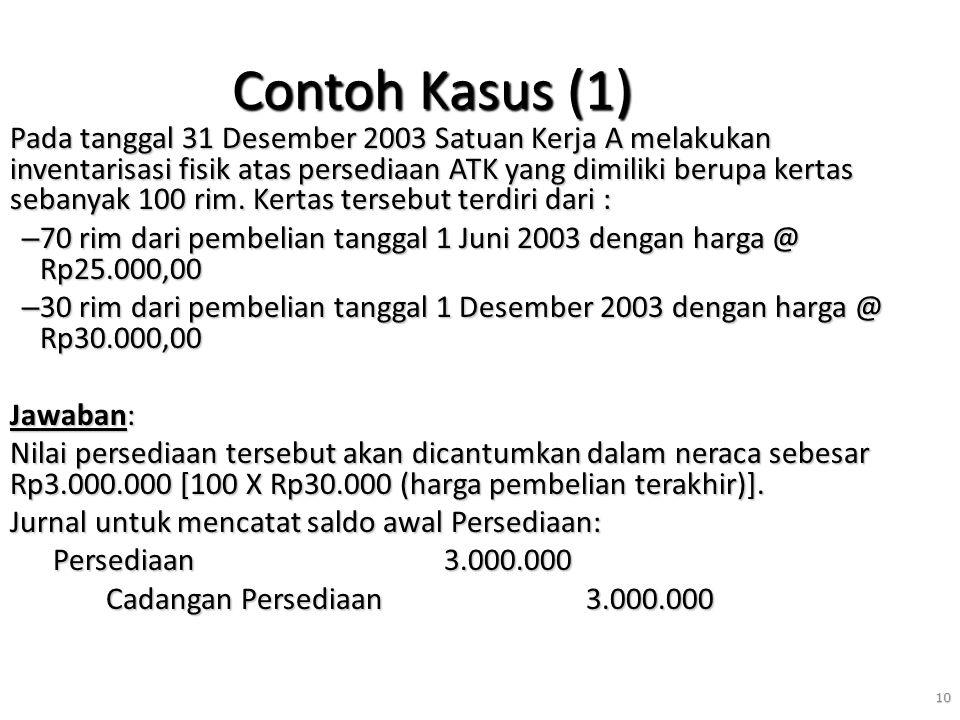 Contoh Kasus (1)