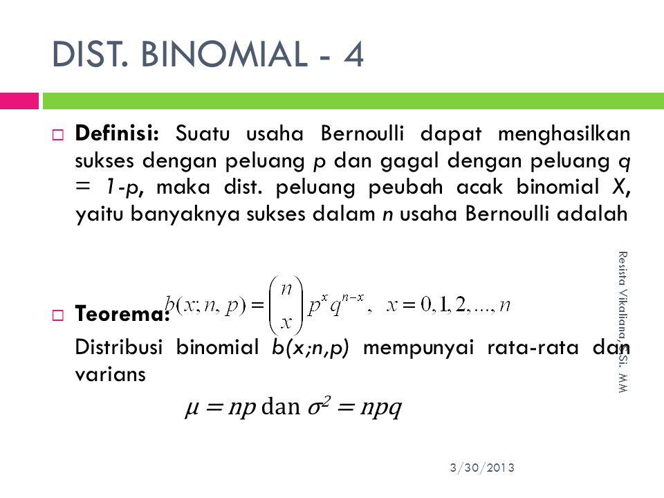 DIST. BINOMIAL - 4