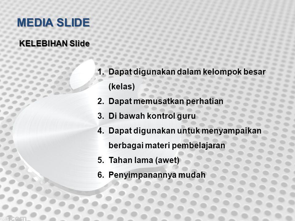 MEDIA SLIDE KELEBIHAN Slide
