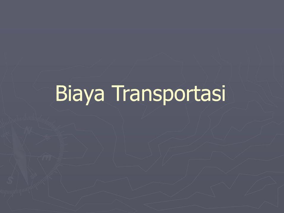 Biaya Transportasi