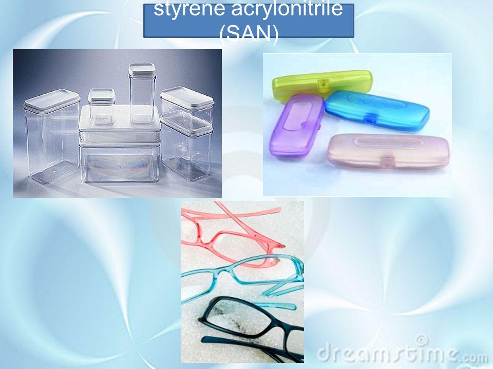 styrene acrylonitrile (SAN)