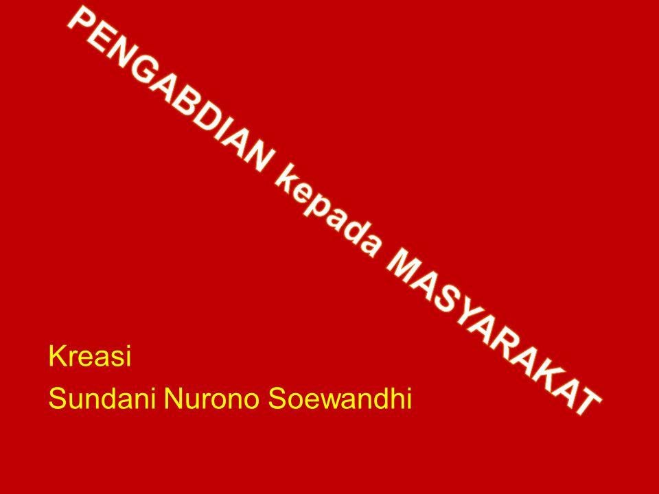 Kreasi Sundani Nurono Soewandhi