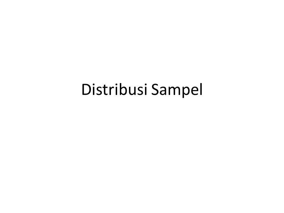 Distribusi Sampel