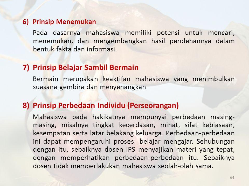 6) Prinsip Menemukan