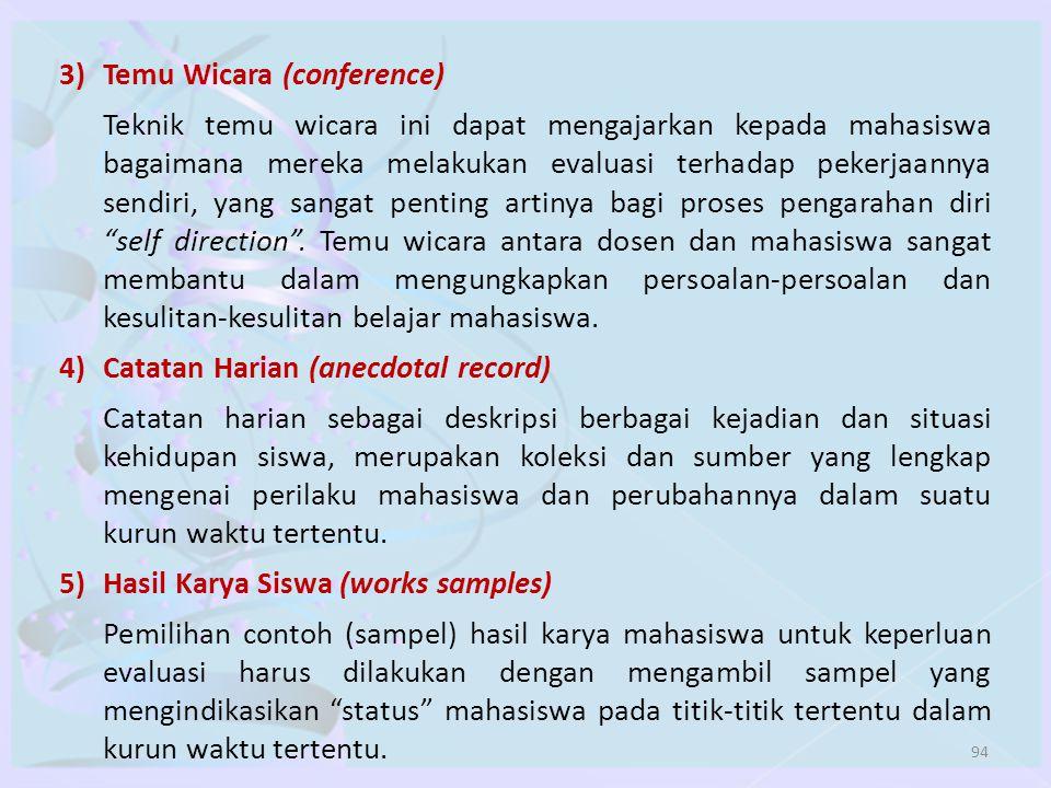 3) Temu Wicara (conference)